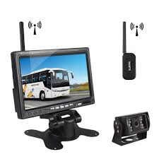 "Car Rover Wireless Truck Backup Camera Parking System With 7"" HD TFT ... 7inches 24ghz Wireless Backup Camera System For Trucks Ls7006w Zsmj And Monitor Kit 9v24v Rear View Cctv Dc 12v 24v Wifi Vehicle Reverse For Cheap Safety Find 5 Inch Gps Backup Camera Parking Sensor Monitor Rv Truck Winksoar 43 Lcd Car Foldable Wired 7inch 4xwaterproof Rearview Mirror 35 Screen Parking C3 C4 C5 C6 C7 Corvette 19682014 W 7 Pyle Plcmdvr8 Hd Dvr Dual Best Rated In Cameras Helpful Customer Reviews Three Side With"