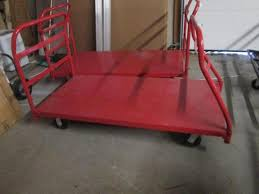Lot 1103 Of 111 Metal Push Cart By Uline