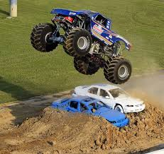 Monster Trucks Draw Monster Crowd To Mansfield Motor Speedway ...