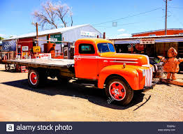 A Restored 1940s Ford Flatbed Truck In A Collectors Yard In ... Ford Flatbed Truck For Sale 1297 1956 Ford Custom Flatbed Truck Flatbeds Trucks 1951 For Sale Classiccarscom Cc1065395 S Rhpinterestch Ford F Goals To Have Pinterest Work Classic Metal Works N 50370 1954 Set Funks 1989 F350 Flatbed Pickup Truck Item Df2266 Sold Au Rare 1935 1 12 Ton Restored Vintage Antique New Commercial Find The Best Pickup Chassis 1971 F 550 Xl Sale Price 15500 Year 2008 Used 700 Dropside 1994 7102 164 Custom Rat Rod 56 Ucktrailer Kart