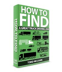 100 Truck Driving Job TD121 How To Find A Great