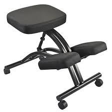 Balans Kneeling Chair Australia by Adjustable Kneeling Stool Black Officeworks