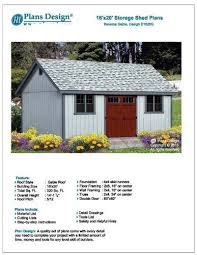 10x14 Garden Shed Plans by 76 Best Storage Sheds Images On Pinterest Shed Ideas Storage