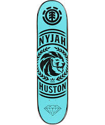 element nyjah clarity 8 0 skateboard deck zumiez