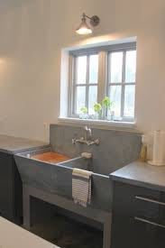 Laundry Room Sink With Built In Washboard by A Vintage Concrete Laundry Sink In The Laundry Room Laundry