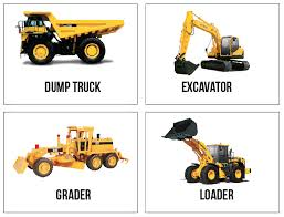 FREE Printable Construction Truck Flashcards. (because I Can Never ...