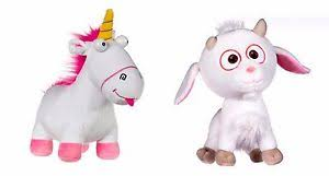 Image Is Loading Despicable Me 3 Minions Fluffy Unicorn AND OR