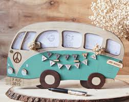 Wedding Guest Book Alternative VW Campervan