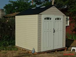 Rubbermaid 7x7 Gable Storage Shed by Rubbermaid 7 Ft 2in X 7 Ft 3 In Plastic Storage Shed