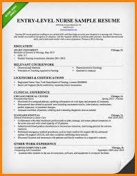 Sample New Grad Nurse Resumes Graduate Resume Examples