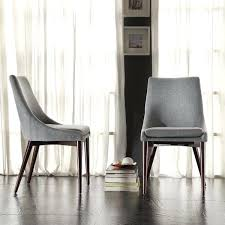 Padded Dining Room Chairs Impressive Best Ideas Only On Chair Fabric Covered Uk