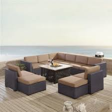 8 10 Person Patio Table by 10 Person Sectional Conversation Sets You U0027ll Love Wayfair