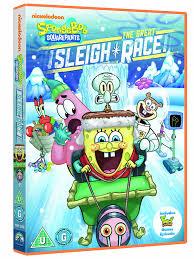 Spongebob Halloween Dvd Episodes by Spongebob Squarepants The Great Sleigh Race Dvd Amazon Co Uk