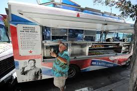 LA County OKs Health Safety Ratings For Food Trucks – CBS Los Angeles Hanjip Korean Bbq Line Up At Kogi Koremexican Queen Of La Food Truck Culture Top 5 Food Truck Cities In North America Blog Hire A Vacation Street Los Angeles Is Hot Trend Ec Verde 551 Photos 596 Reviews Barbeque Eagle Taco Mell Catering Trucks Roaming Hunger Kates Kitchen Lloyd The The 10 Most Popular Trucks Seoul Usage Co Best Joints Consuming