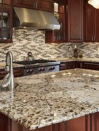 brown copper glass marble mix backsplash tile glass mosaic