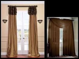 Annas Linens Curtain Panels by Brown Curtains For Window Panels Valances U0026 Curtains Youtube