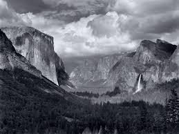Yosemite Valley Thunderstorm By Ansel Adams
