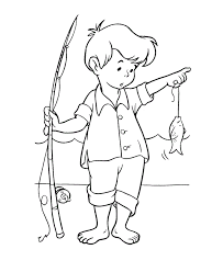 Awesome Fishing Coloring Pages 70 About Remodel Seasonal Colouring With