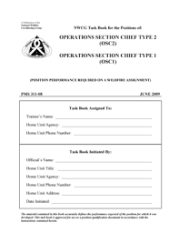 ics operations section Forms and Templates Fillable & Printable