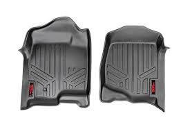 ROU- M-2141 Rough Country Heavy Duty Floor Mats 14-15 Chevy GMC Front Customfit Faux Leather Car Floor Mats For Toyota Corolla 32019 All Weather Heavy Duty Rubber 3 Piece Black Somersets Top Truck Accsories Provider Gives Reasons You Need Oxgord Eagle Peterbilt Merchandise Trucks Front Set Regular Quad Cab Models W Full Bestfh Tan Seat Covers With Mat Combo Weathershield Hd Trunk Cargo Liner Auto Beige Amazoncom Universal Fit Frontrear 4piece Ridged Michelin Edgeliner 4 Youtube 02 Ford Expeditionf 1 50 Husky Liners