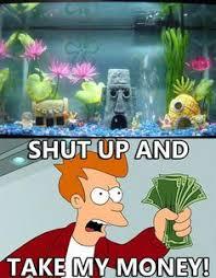 Spongebob Aquarium Decorating Kit by Spongebob Aquarium Decorating Kit Here Fishy Fishy Pinterest