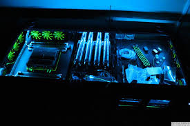 Water Cooled Desk Home Remodel Watercooled Pc Desk Mod With Built