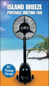 Cheap Patio Misting Fans by Island Breeze Misting Fan Our High Performance Portable Misting Fan