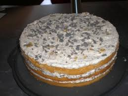 pfirsich chococrossies torte