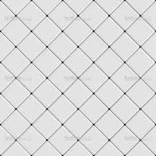 White Floor With Diamonds Tiles