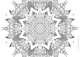 Awesome Mandala Coloring Page By Pages Printable