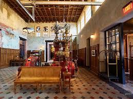 100 San Antonio Loft Lobby Hotel Emma Texas Industrial Lofts Hotel