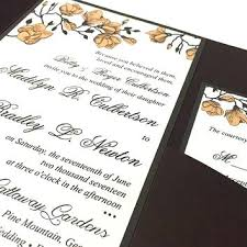 Rustic Wedding Invitation Kits Set Magnolia Kit Sweet Peach