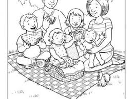 Lds Coloring Pages Family Picture To Page