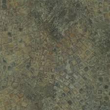 Antique Stone Pattern PVC Vinyl Floor Tile