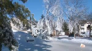 Water Main Break Turns Florissant Street Into Winter Wonderland