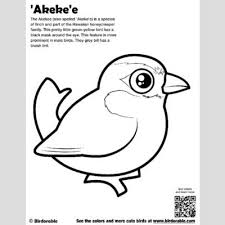 Cute Bird Coloring Pages By Birdorable