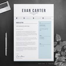 Evan Resume Template 74506