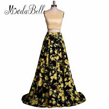 aliexpress com buy real picture flower print fitted prom dress