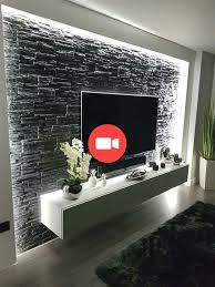 the and most graceful of tv wall design living room