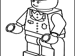 Lego Trains Colouring Pages