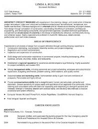 Resume Examples Architecture ResumeExamples Job Template Sample