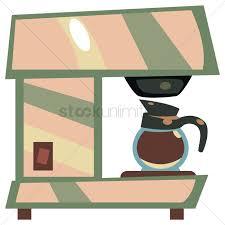 Espresso Machine Vector Graphic