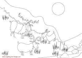 Billy Goats Gruff Colour 1689495