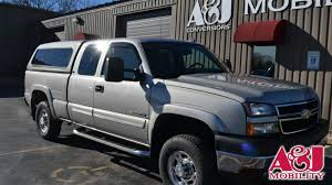 Wheelchair Van For Sale | 2006 Chevrolet Silverado 2500HD | Stock ... 2019 Chevrolet Silverado 2500hd For Sale In Vinita Ok Bob Hart 2018 1500 Oxford Pa Jeff D 2006 427 Concept History Pictures Value Sylvania Oh Dave White For Sale Chevrolet Silverado Ss Stk P5767 Wwwlcfordcom For 22988 2011 Lt Only 11k Miles New 2wd Reg Cab 1190 Work Truck Used 2014 4x4 Chevy Z71 Sale Springfield Branson In Ada West Point All 2016 Vehicles