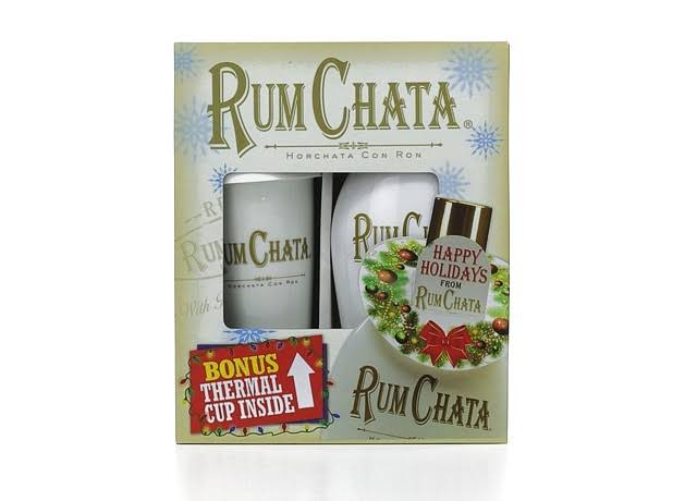 RumChata Liqueur 750 ml Gift Set with Bonus Mug