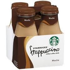 Starbucks Frappuccino Mocha Glass Bottles
