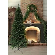 Downswept Pencil Christmas Tree by Slim Christmas Trees You U0027ll Love Wayfair