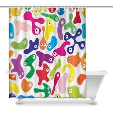 Amazoncom InterestPrint Bathroom Shower Curtain 60in X