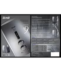 ALPHA ELECTRIC CO SDN BHD 100 Ltr IM9E
