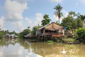104 River Side House Side S In The Mekong Delta Vietnam The Road To Anywhere